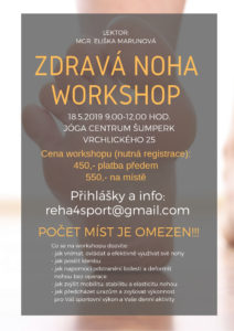 zdrava noha workshop sumperk 18.5.
